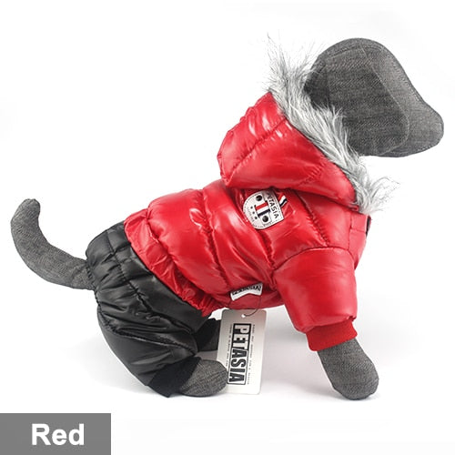 Winter pet dog clothe waterproof. - pawslove1