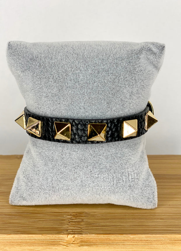 FAUX LEATHER VALEN LEATHER BRACELET
