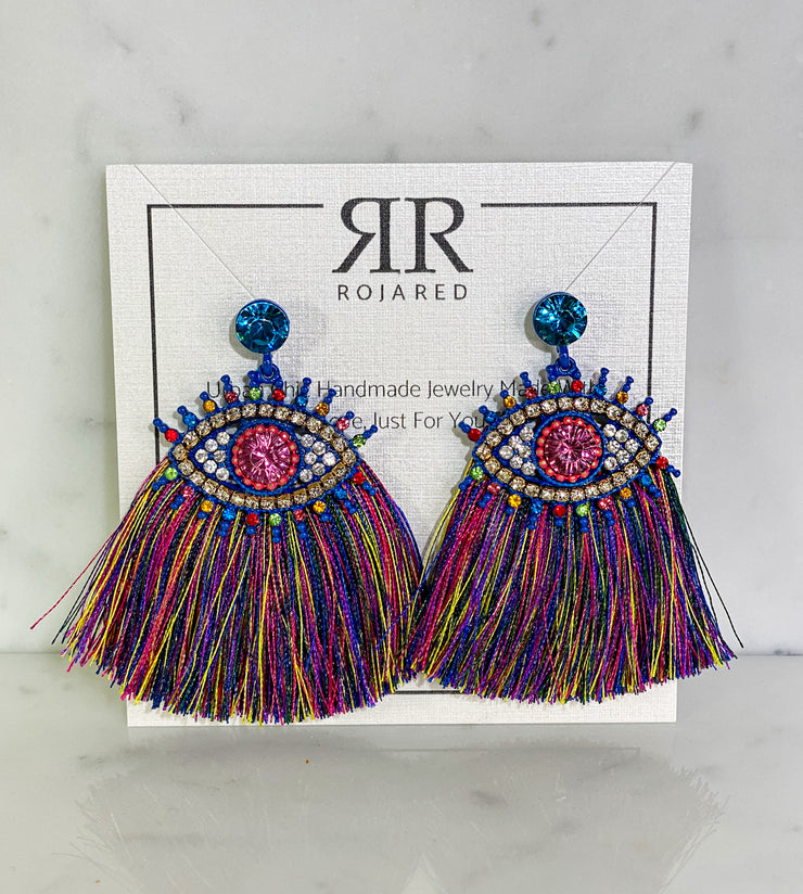 CARNIVAL EYE EARRINGS
