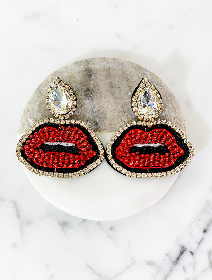 MONROE LIPS EARRINGS