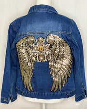 GOLD GODDESS DENIM JACKET