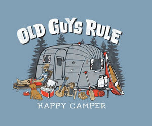Happy Camper Old Guys Rule