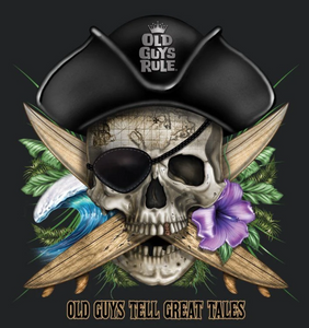 Pirate Skull - Old Guys Rule