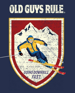 DOWNHILL SKIER  Old Guys Rule