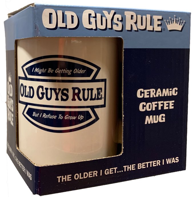 Refuse to Grow Up O.G.R. Mug