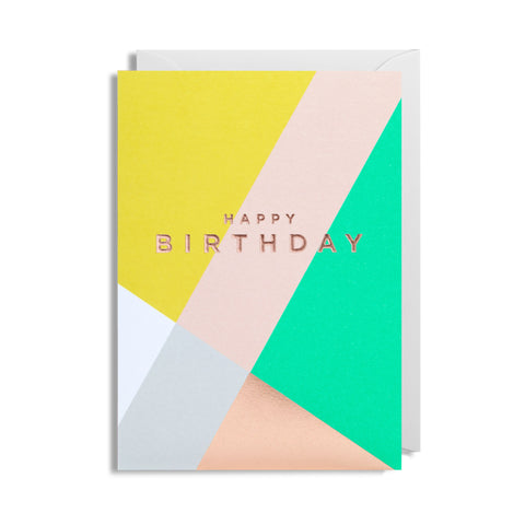 Happy Birthday - Card