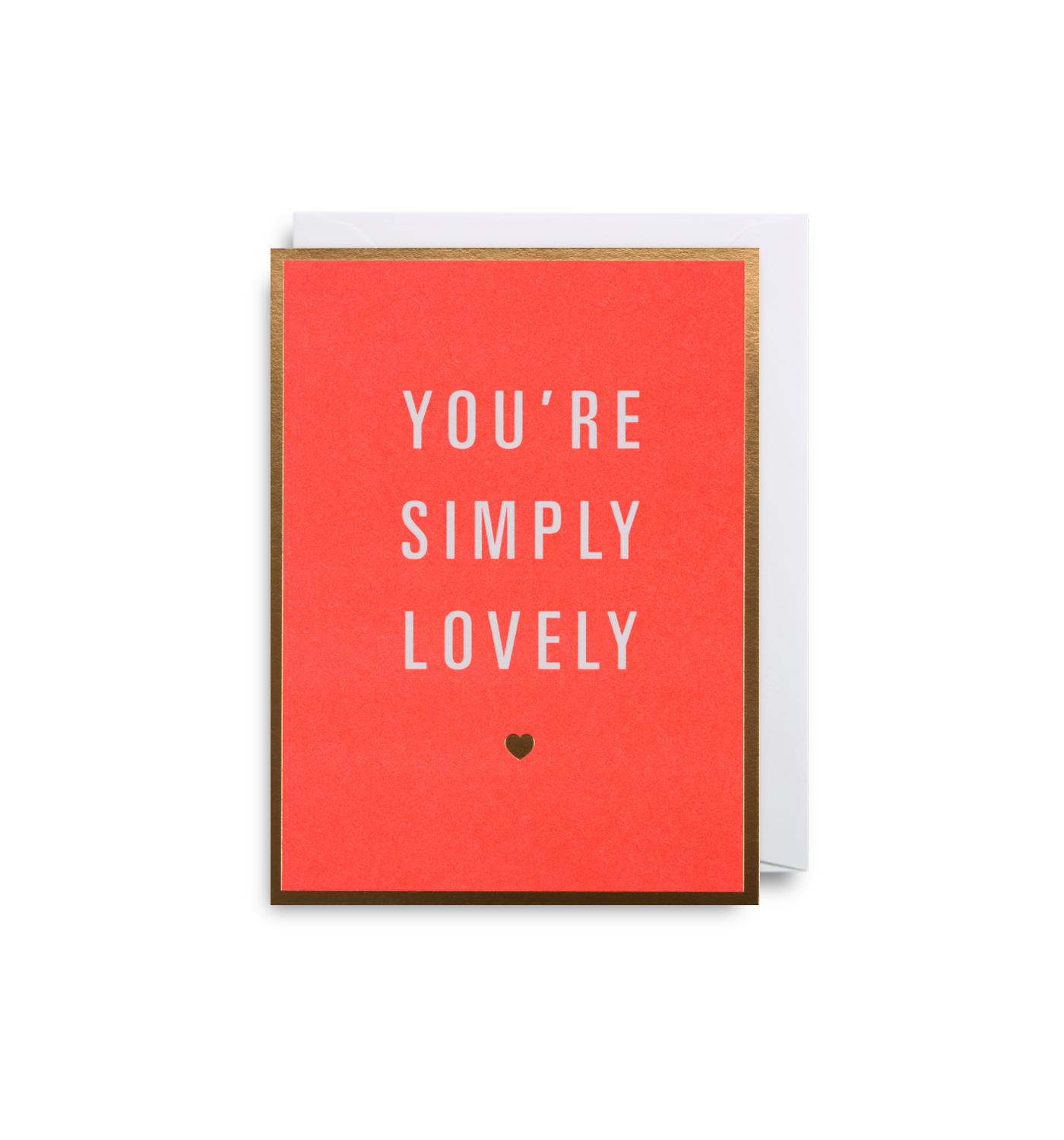 You're Simply Lovely - Mini Card - Five And Dime