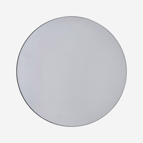 80cm Diameter Grey Mirror - Five And Dime