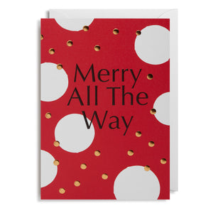 Merry All The Way - Card