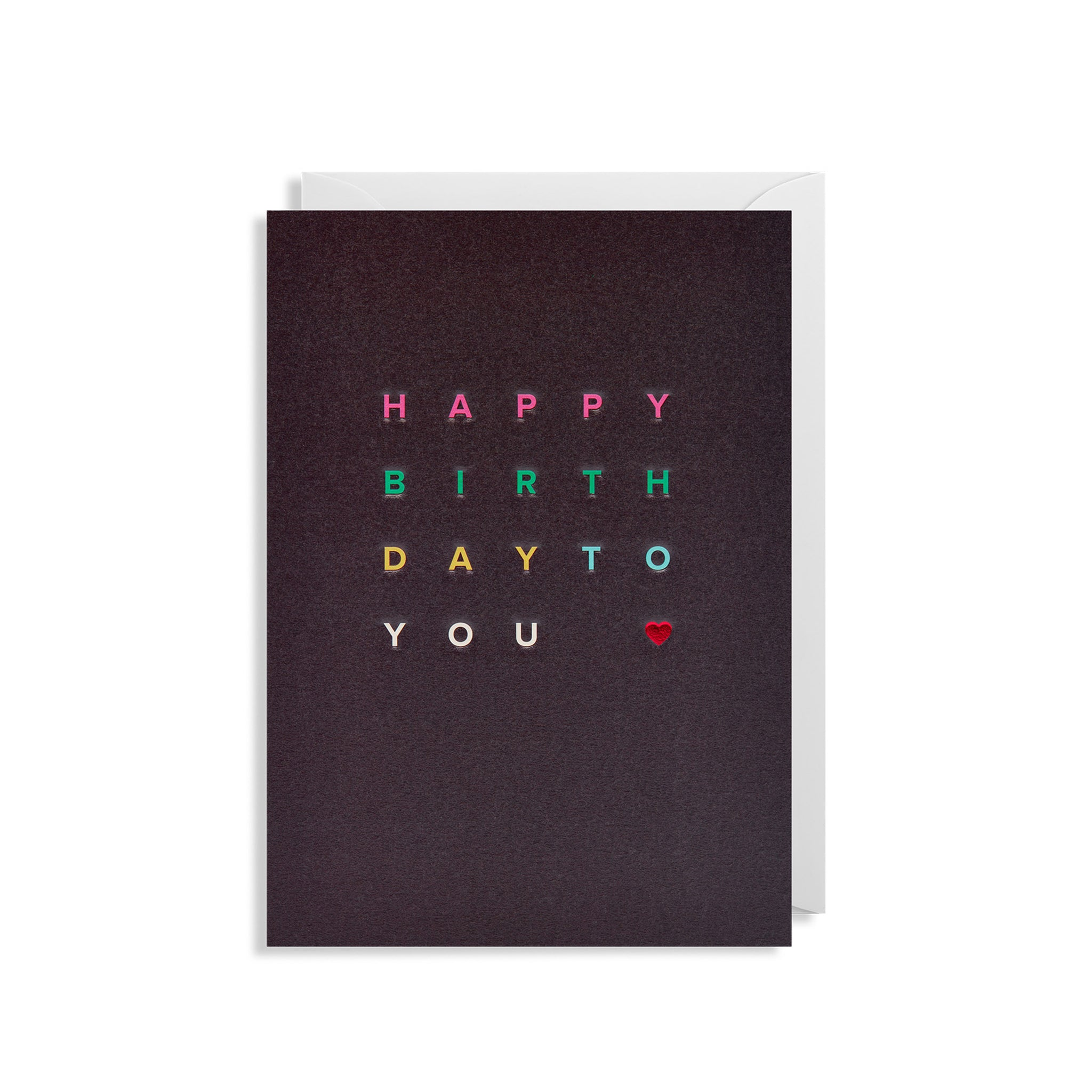 Happy Birthday To You - Greetings Card