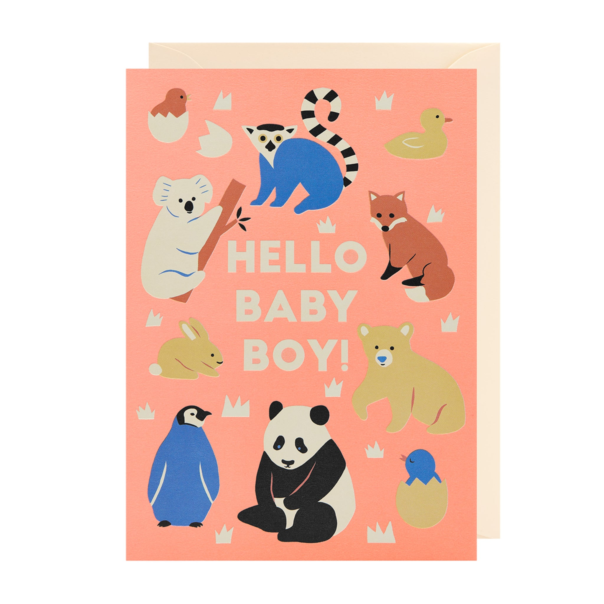 Hello Baby Boy! - Card