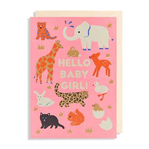 Hello Baby Girl! - Card