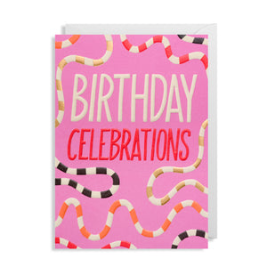 Birthday Celebrations - Card