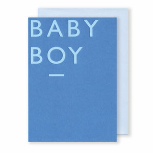'Baby Boy' - Card - Five And Dime