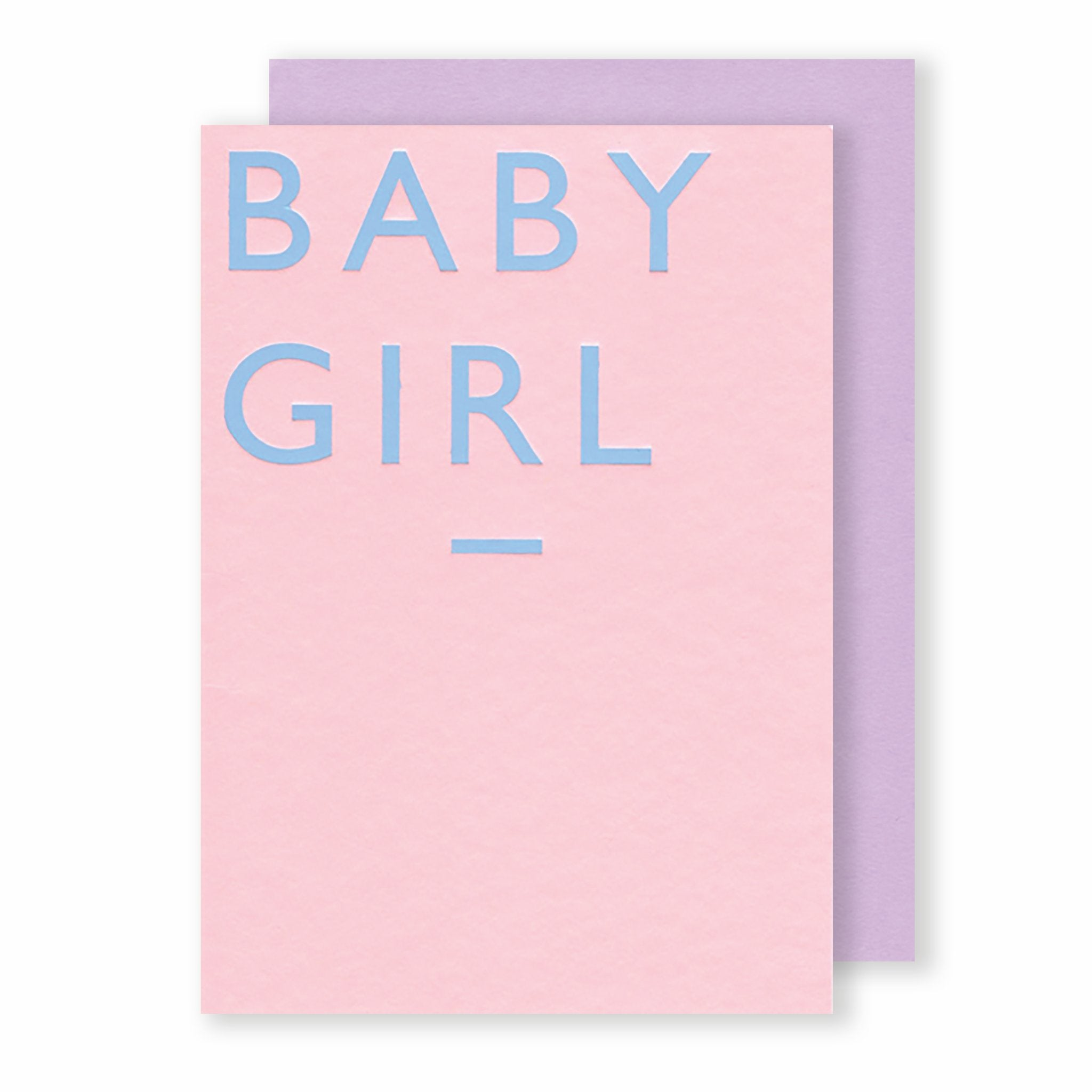 'Baby Girl' - Card - Five And Dime