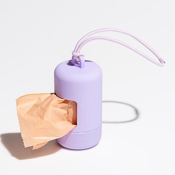 Poop Bag Carrier - Lilac Wild One
