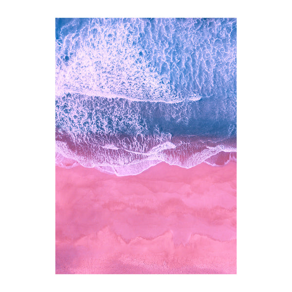 'Beach' A3 / A4 Print - Five And Dime