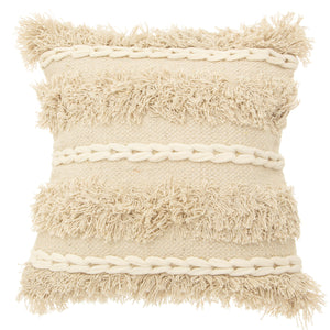 Tufted Striped Cushion - Five And Dime