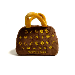 'Chewy Louis' Handbag - Plush Dog Toy