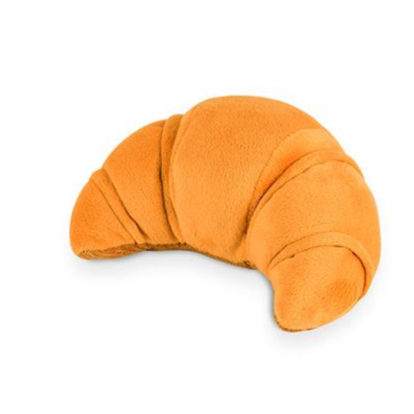Croissant Plush Dog Toy