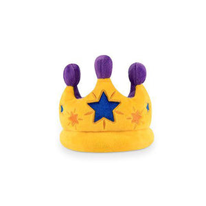 Canine Crown Plush Dog Toy - Five And Dime