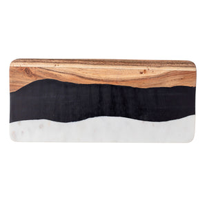Marble & Acacia Chopping Board Bloomingville