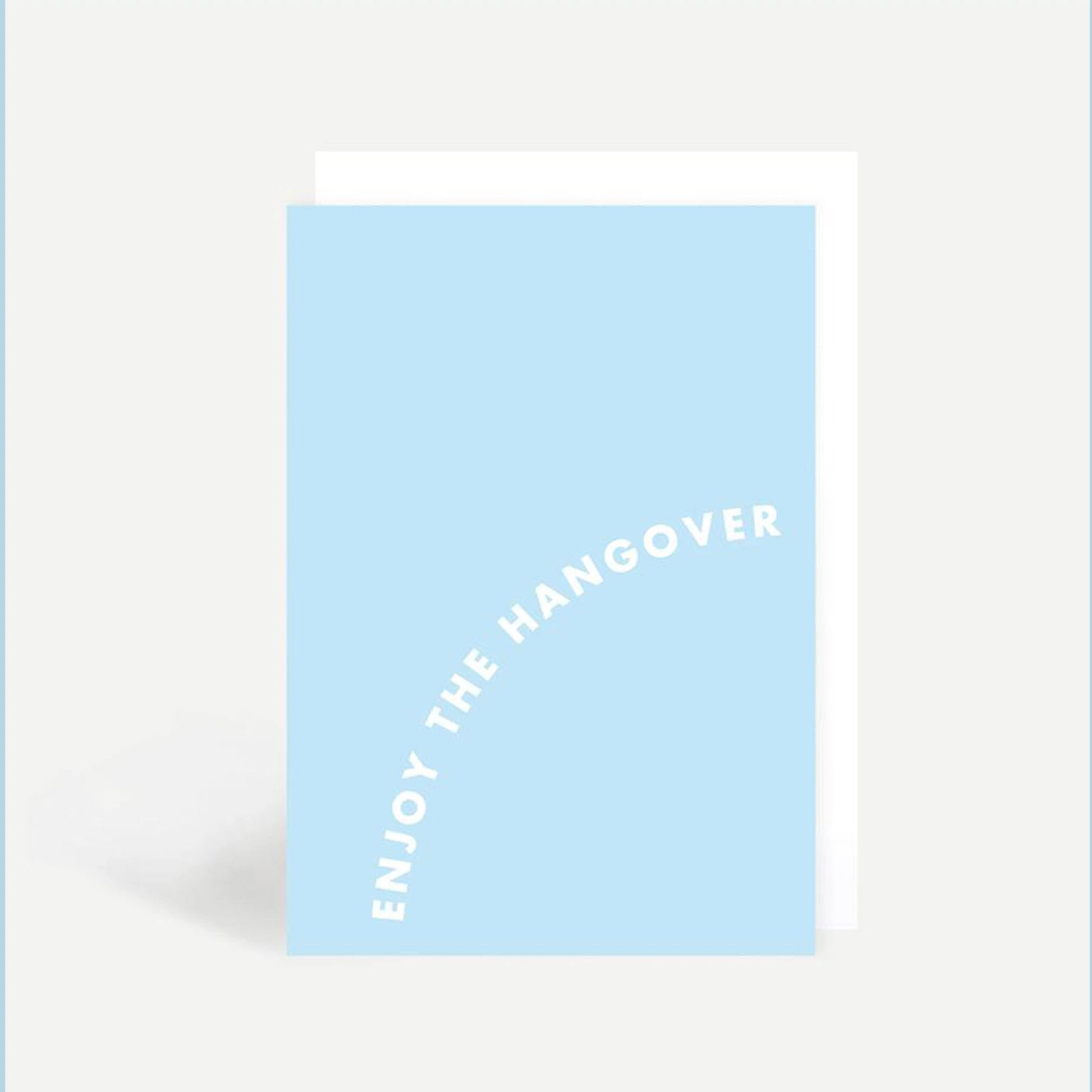 'Enjoy The Hangover' - Card - Five And Dime
