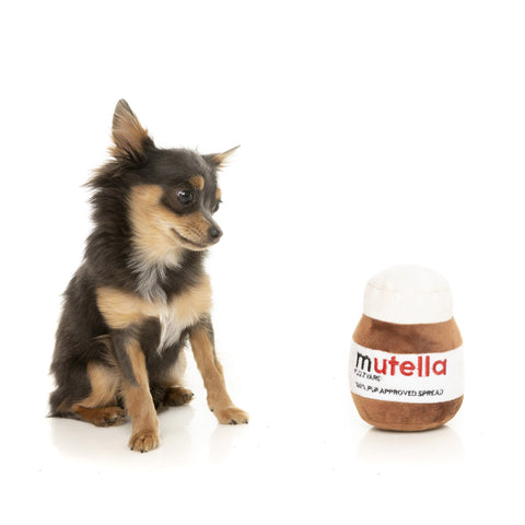 'Mutella' Plush Dog Toy - Five And Dime