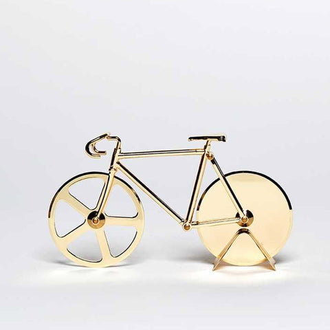 Pizza Cutter 'The Fixie' Gold - Five And Dime