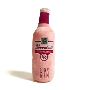 'Grrrdon's Pink Gin' - Plush Dog Toy