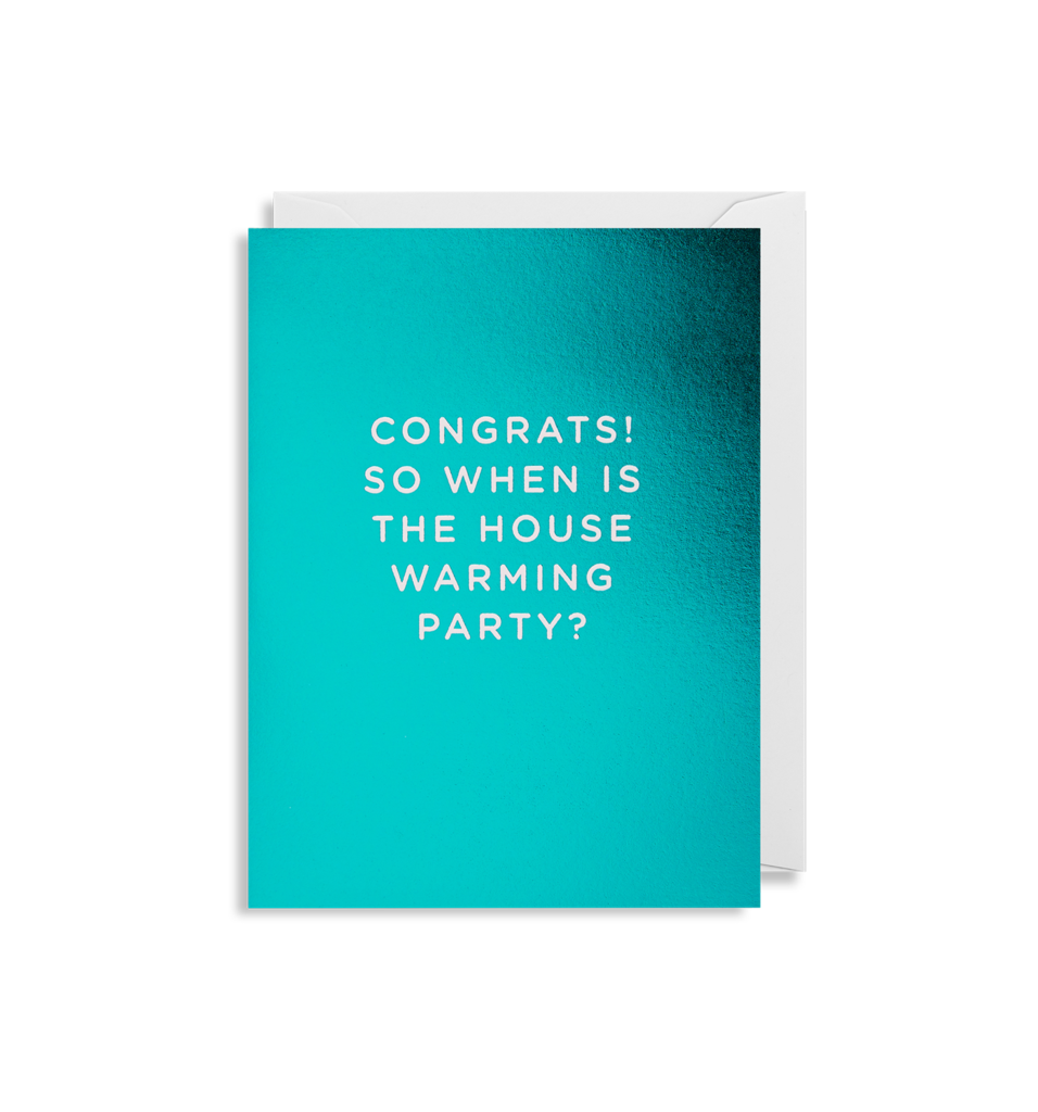 'Housewarming Party' - Mini Card - Five And Dime