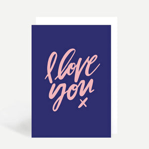 'I Love You' - Card - Five And Dime