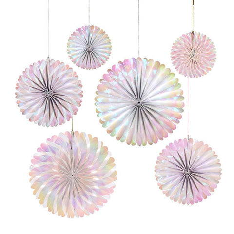 Iridescent Pinwheels (Pack of 6) - Five And Dime