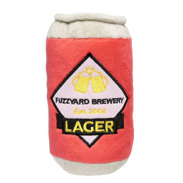 'Lager' Plush Dog Toy - Five And Dime