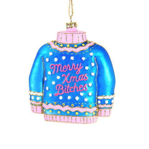'Christmas Sweater' Bauble