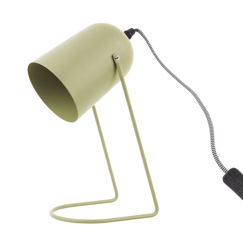 'Enchant' Table Lamp - Olive Green