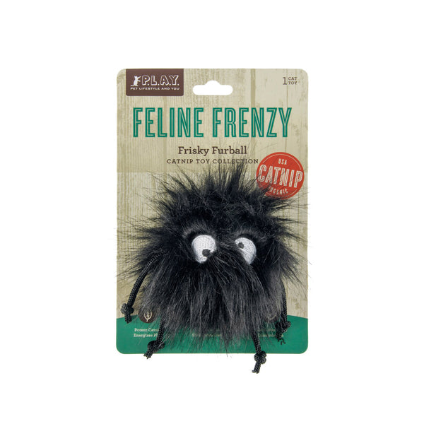 Cat Toy 'Feline Frenzy Frisky Furball' - Five And Dime