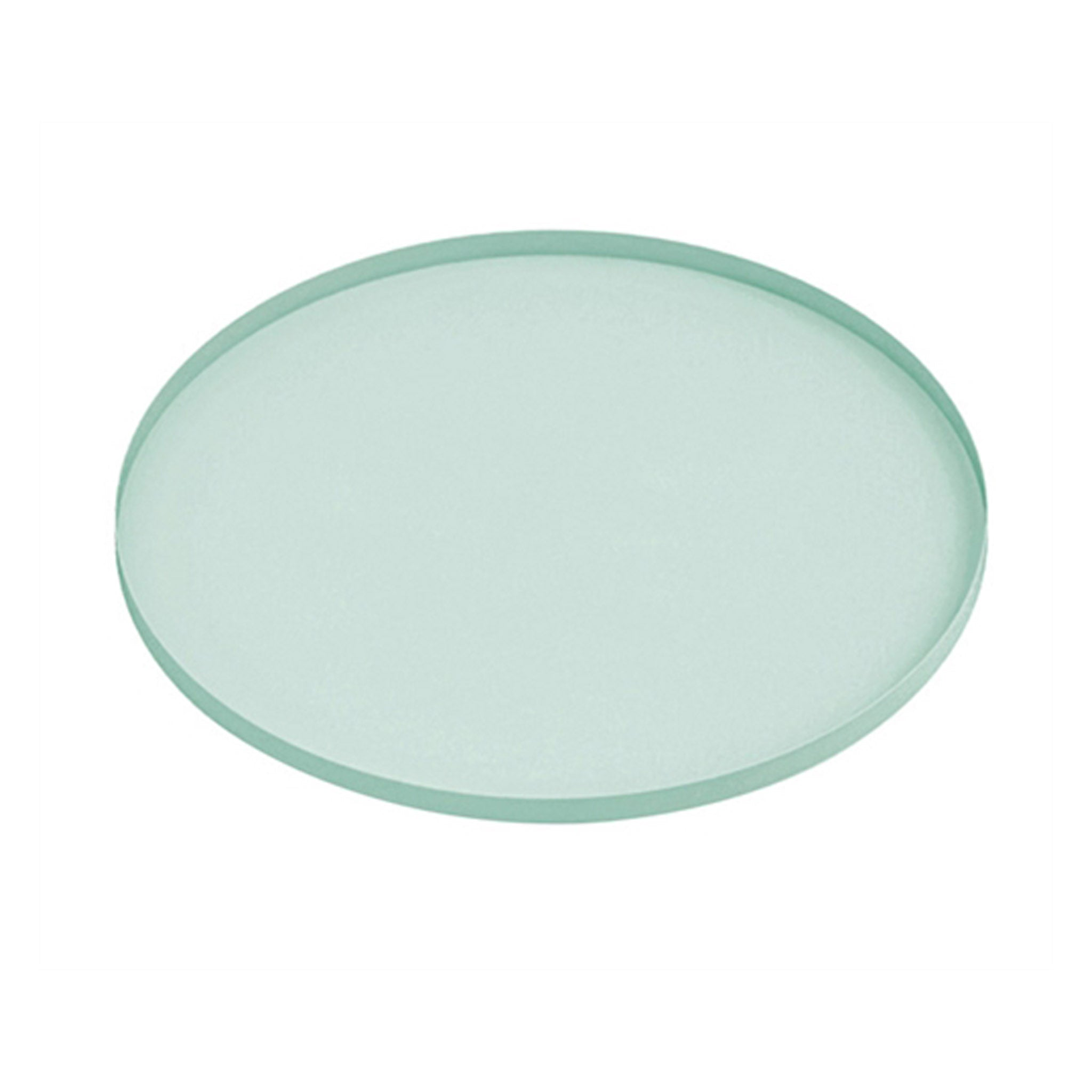 Round Iron Tray - Mint Green - Five And Dime