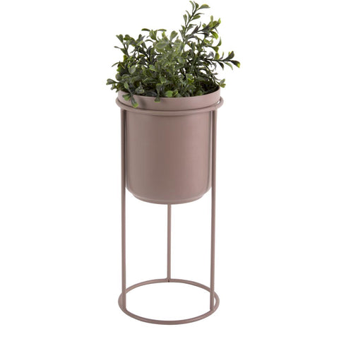 Large Plant Pot Stand - Faded Pink Present Time