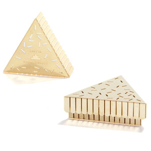 'Play' Brass Trinket Box
