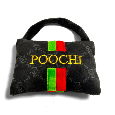 'Poochi' Handbag - Plush Dog Toy