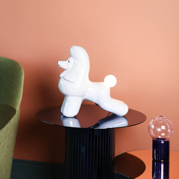 Poodle Table Lamp