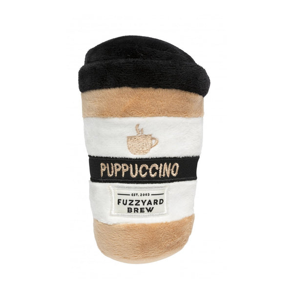 'Puppuccino' Plush Dog Toy - Five And Dime