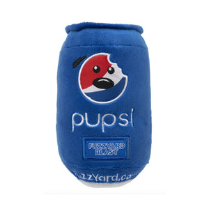 Pupsi Soda Plush Dog Toy