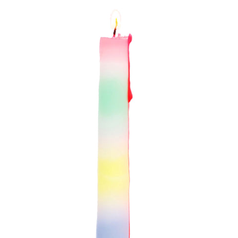 Rainbow Drip Candles - Set Of 2 - Five And Dime