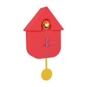 'Red & Yellow' Cuckoo Clock