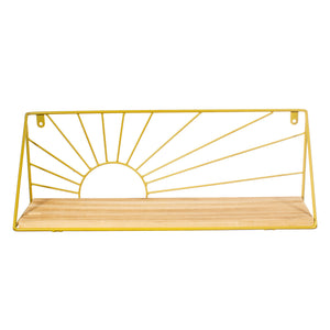 Gold Sunset Shelf