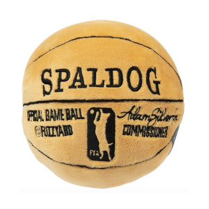 Spaldog Basketball Plush Dog Toy