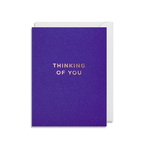 'Thinking Of You' - Mini Card