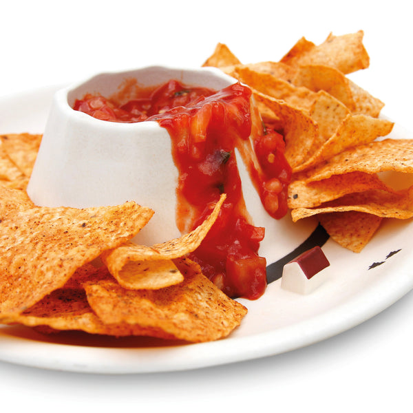 'Volcano' Chips And Dips Bowl